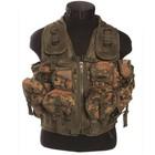 Mil-Tec Deployment Tactical Vest, 9-pockets, BW camo