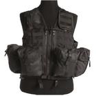Mil-Tec Tactical Vest, mod. system, 8-pockets, black