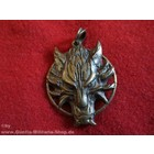 Anderswelt Import pendant antique brass-look Celtic Fenris