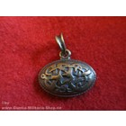 Anderswelt Import pendant antique brass-look Midgard Oval