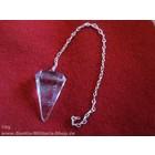 Anderswelt Import Bergkristall Pendel, groß