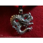 Anderswelt Import Pewter Pendant twisted Dragon