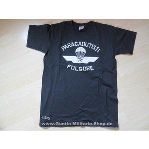 Guntia Militaria T-Shirt Paracadutisti Folgore