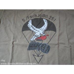 Guntia Militaria T-Shirt FschJgBtl 251