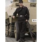 Mil-Tec Wehrmacht Panzerhose schwarz, Repro
