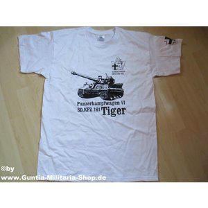 Guntia Militaria T-Shirt Tiger Panzer 506