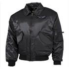 MFH CWU pilot jacket, black, heavy version