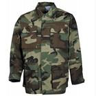 MFH US BDU field jacket, Rip stop, woodland