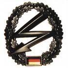 MFH BW Barettabzeichen, Fernmelder, Metall