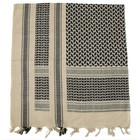MFH Shemagh (Scarf), sand-black, fringed