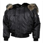 MFH Polar jacket N2B, black, thickly fed