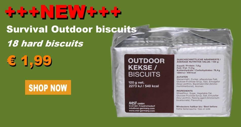 Survival Outdoor biscuits