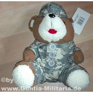 MFH Teddybär, 28 cm, mit Anzug und Mütze, At-digital