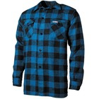 Fox Outdoor Shirt, lumberjack, blue/black, checkered