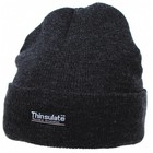 MFH Watch Cap, anthracite, short, Thinsulate lining