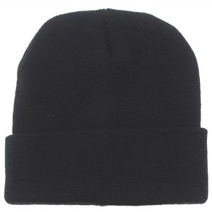 MFH Watch Cap, wool, black