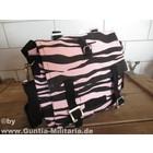 MMB BW Kampftasche klein, Zebra, schwarz-pink