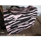 MMB BW Kampftasche groß, Zebra, schwarz-pink