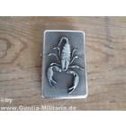 Briquet avec motif scorpion