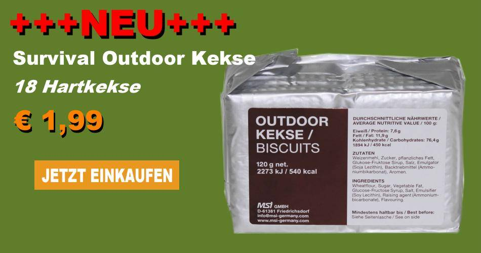 Survival Outdoor Kekse
