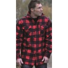 Mil-Tec Holzfällerhemd, schwarz-rot