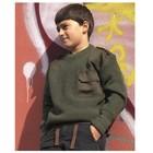 Mil-Tec Commando Pullover, Kids, oliv