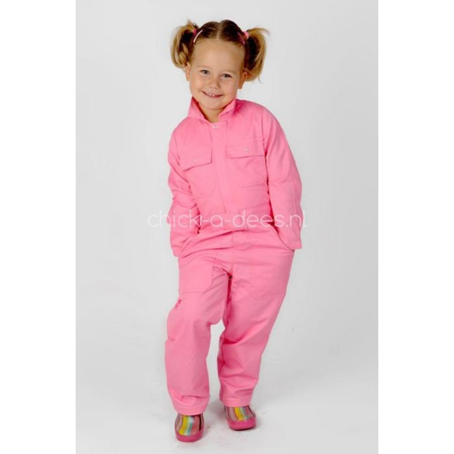 Pink overall for children-1