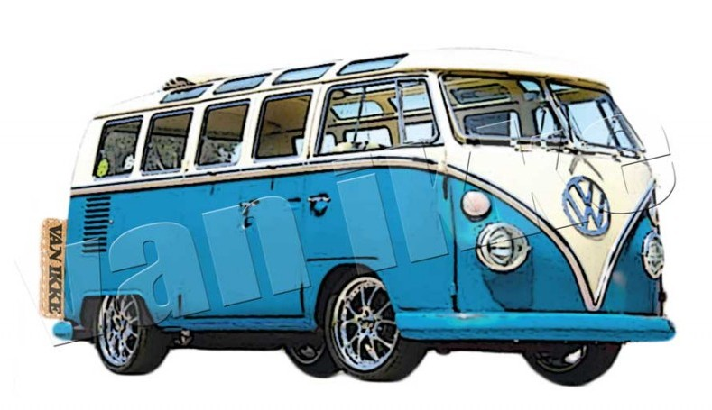VW bus for overalls