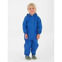thumb-Waterproof coveralls, rain boiler suit - blue-2