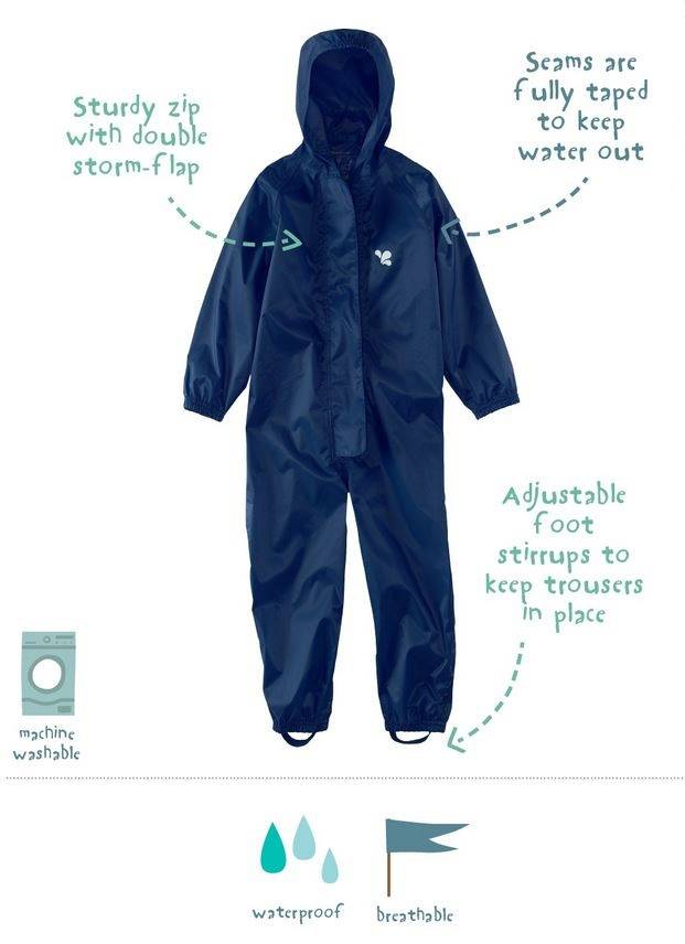 Waterproof overall