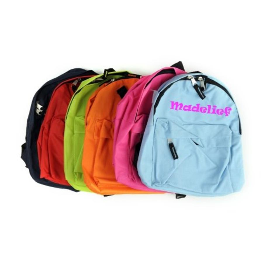 Backpack with name print-1