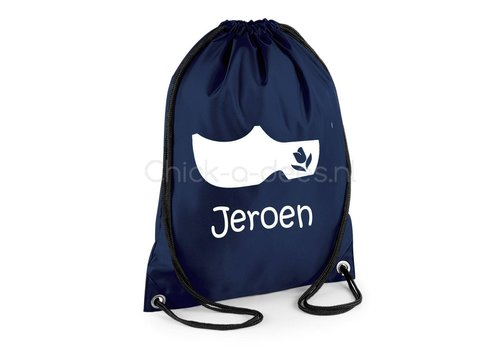 Gym bag with name Holland - clump