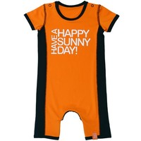 UV babysuit / swimsuit, orange