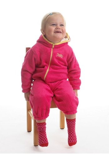 Regatta High-pile fleece suit Hugs, roze