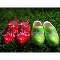 thumb-Wooden children's clogs-2