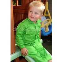 Children Overall lime green
