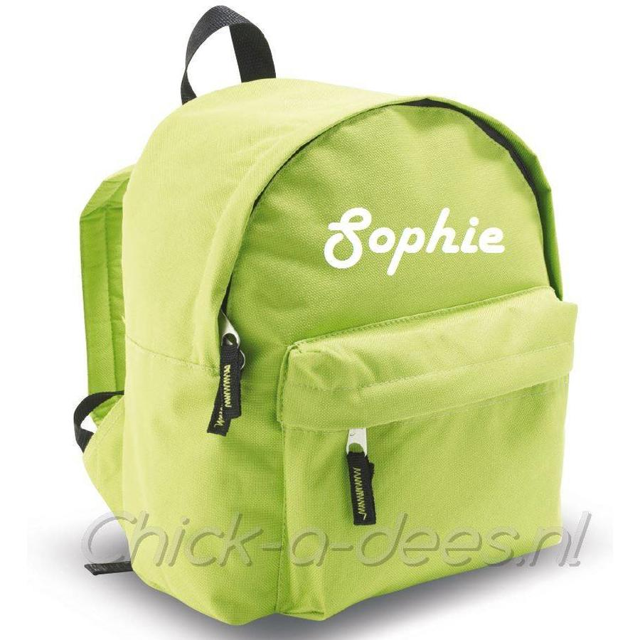 Backpack with name print-4