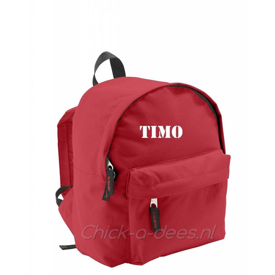 Backpack with name print-7
