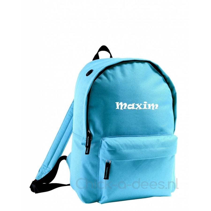 Backpack with name print-8