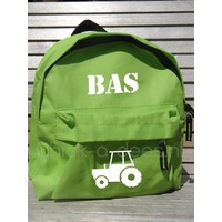 thumb-Beautiful backpack with name print and farm theme-4