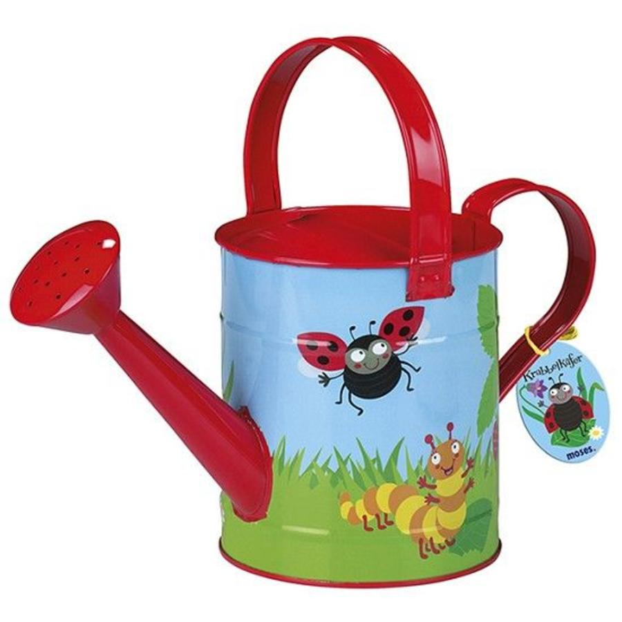 Child's watering can, little bugs