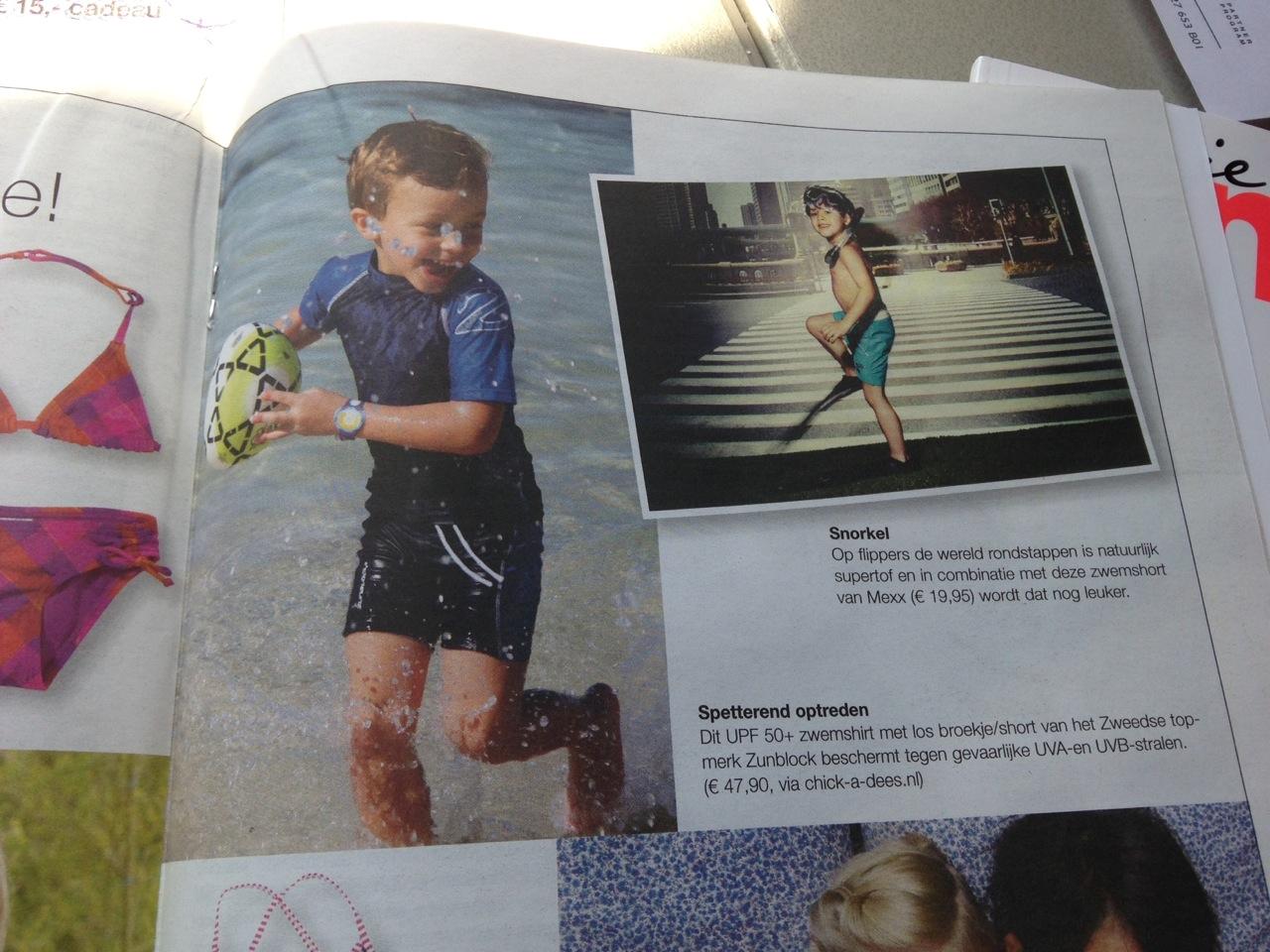 Artikel Anoniem mei 2013 uv zwemkleding