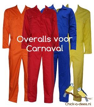 Fonkelnieuw Overalls en tuinbroeken voor carnaval - Chick-a-dees GF-48