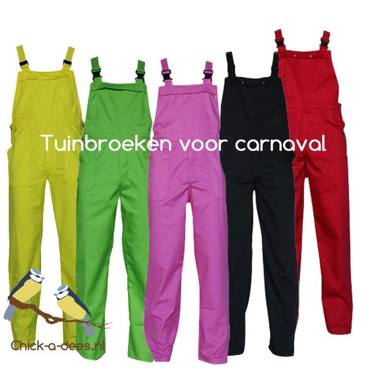 Wonderbaarlijk Overalls en tuinbroeken voor carnaval - Chick-a-dees AD-77