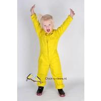 Yellow child's overall