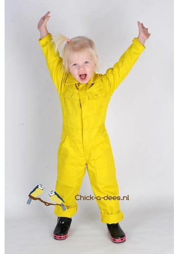 Yellow child's overall
