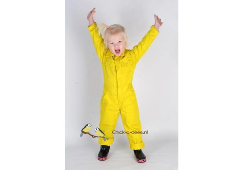 Yellow children's overalls