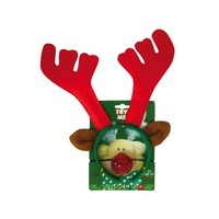 Diadem reindeer with flashing nose