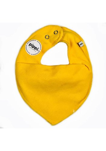PiPi Drool bib, yellow bandana