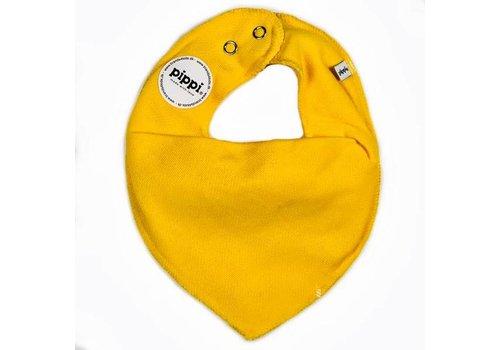 PiPi Drool bib, yellow bandana